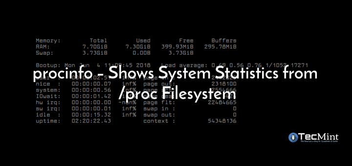 Shows /proc System Information