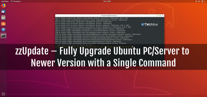 zzUpate Upgrade Ubuntu System With Single Command