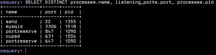 List Linux Processes Information
