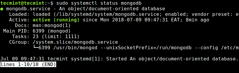How to Install MongoDB on Ubuntu 18 04