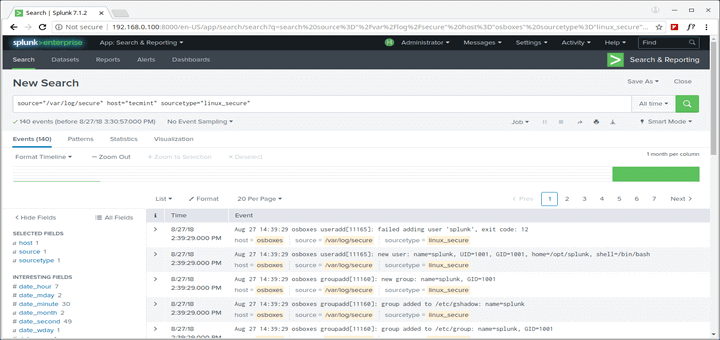 Splunk Security Tool