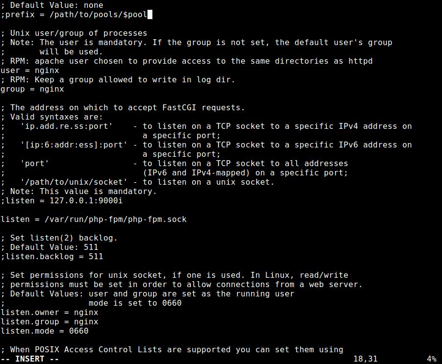 Configure PHP-FPM