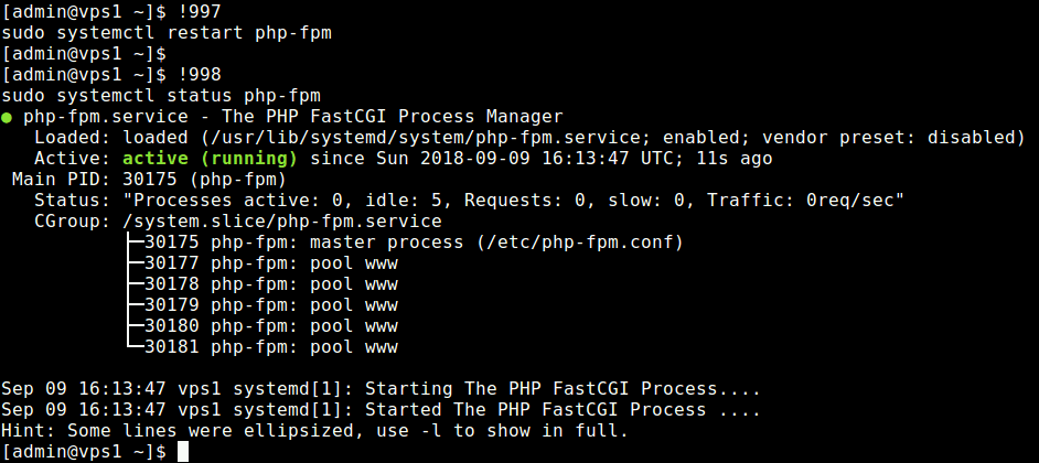 Re-excute Previous Commands in Linux