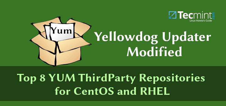 YUM ThirdParty Repositories for CentOS