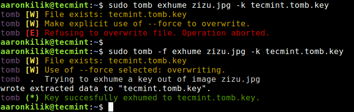 Tomb - A File Encryption and Personal Backup Tool for Linux