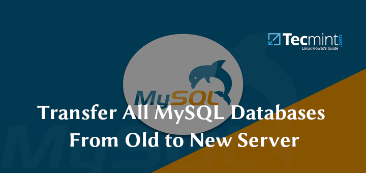 How to Transfer All MySQL Databases From Old to New Server
