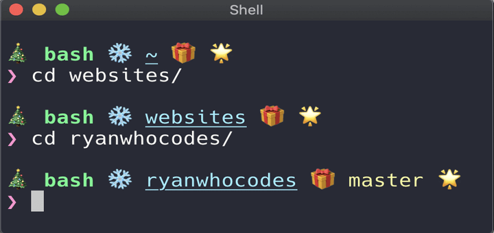 Christmassify Linux Terminal