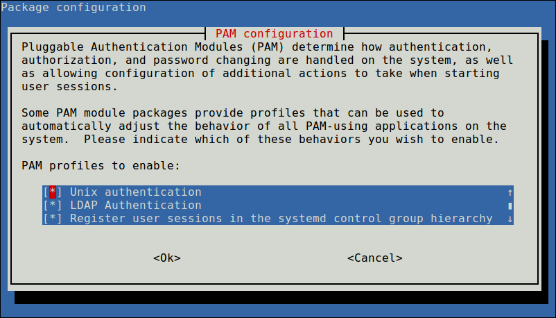 Configure PAM Authentication Mechanism