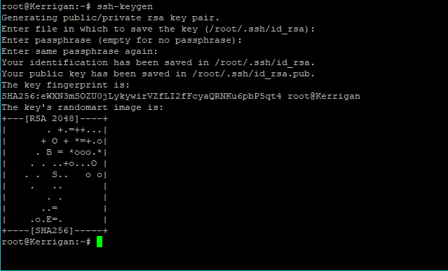 Generate SSH Keys on RHEL 8