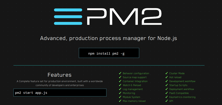 How to Install PM2 to Run Node js Apps on Production Server
