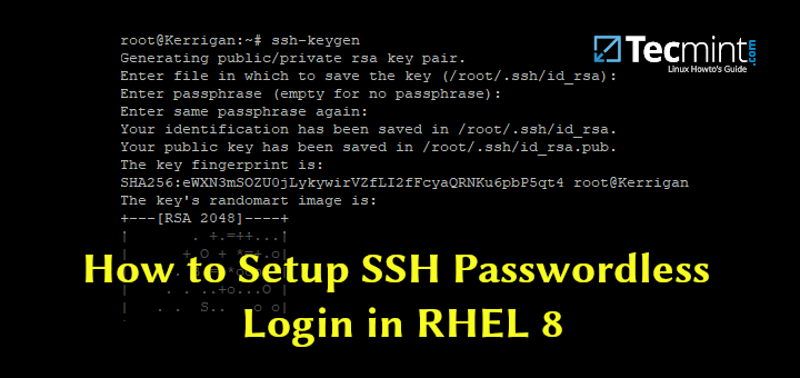 Setup SSH Passwordless Login in RHEL 8