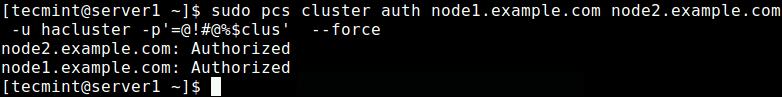 Setup Authentication for PCS