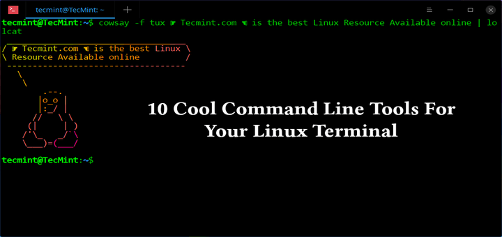 Cool Linux Command-line Tools