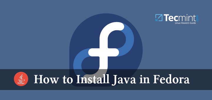 Install Java in Fedora