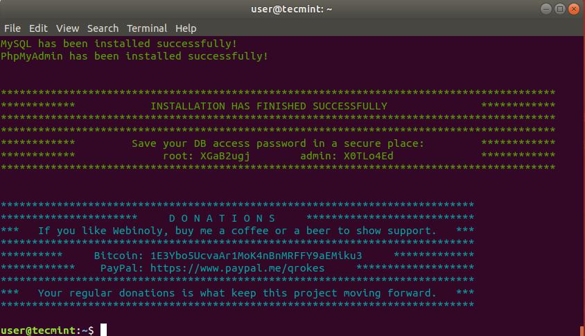 Install Webinoly in Ubuntu