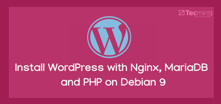 Install WordPress on Debian 9