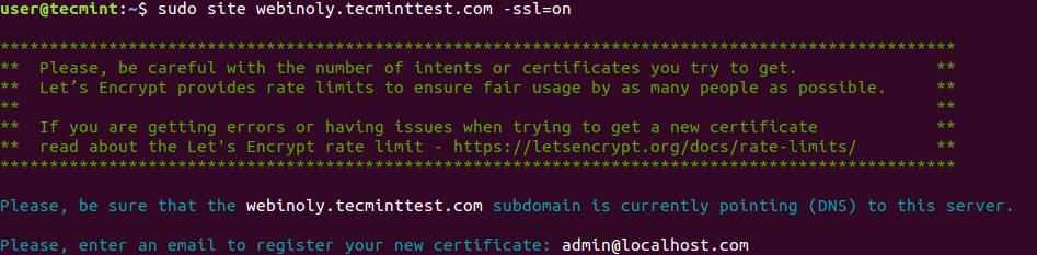 Setup Free SSL on WordPress