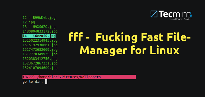 Fast File Manager for Linux
