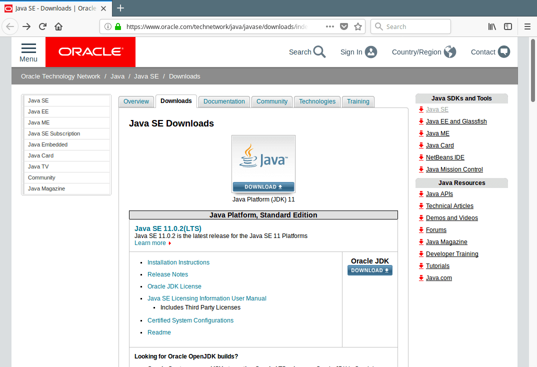 Oracle JDK Download