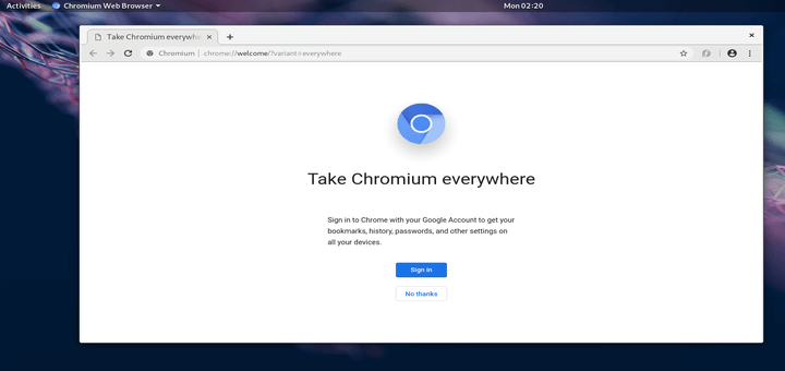 How to Install Chromium Browser in Fedora 29