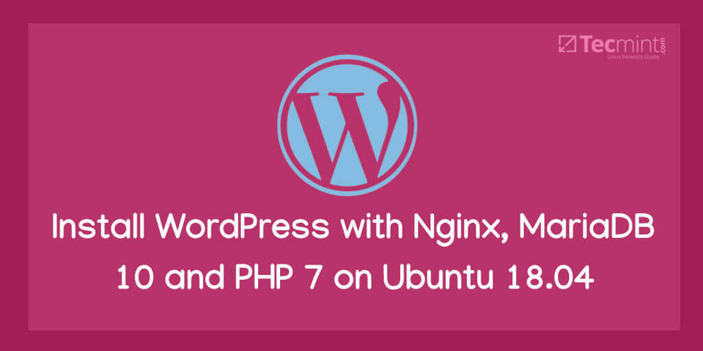 Install WordPress on Ubuntu 18.04