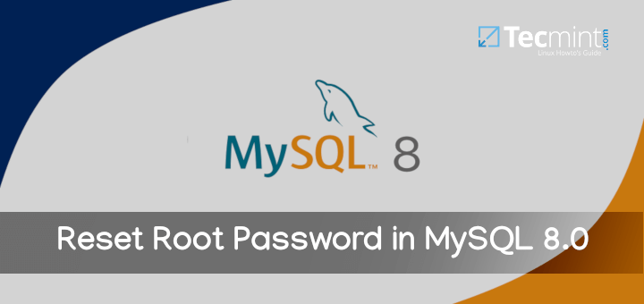 Reset Root Password in MySQL 8