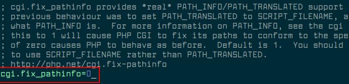 Configure PHP-FPM CGI