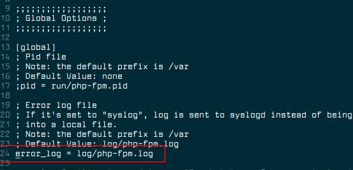 Configure PHP FPM