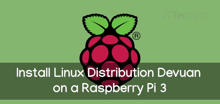 Install Linux on Raspberry Pi 3