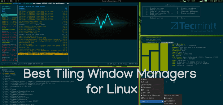 Best Tiling Window Managers for Linux