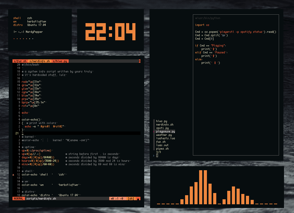 herbstluftwm – Tiling Window Manager for Linux
