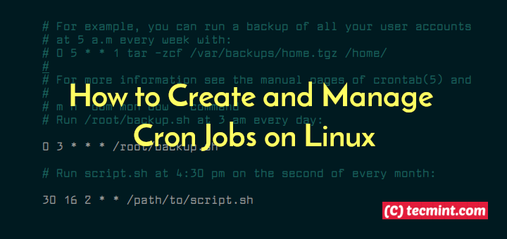 Create Cron Jobs in Linux
