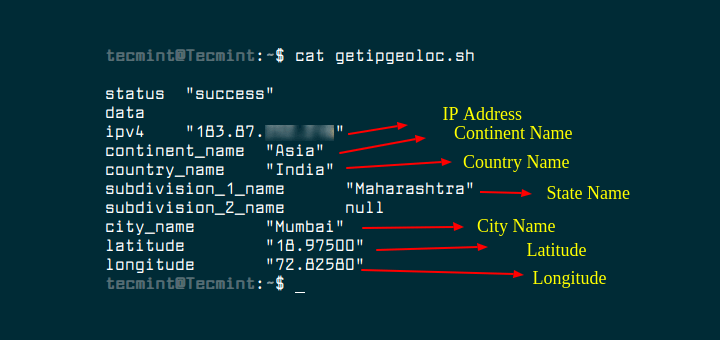 Find Linux Server Location