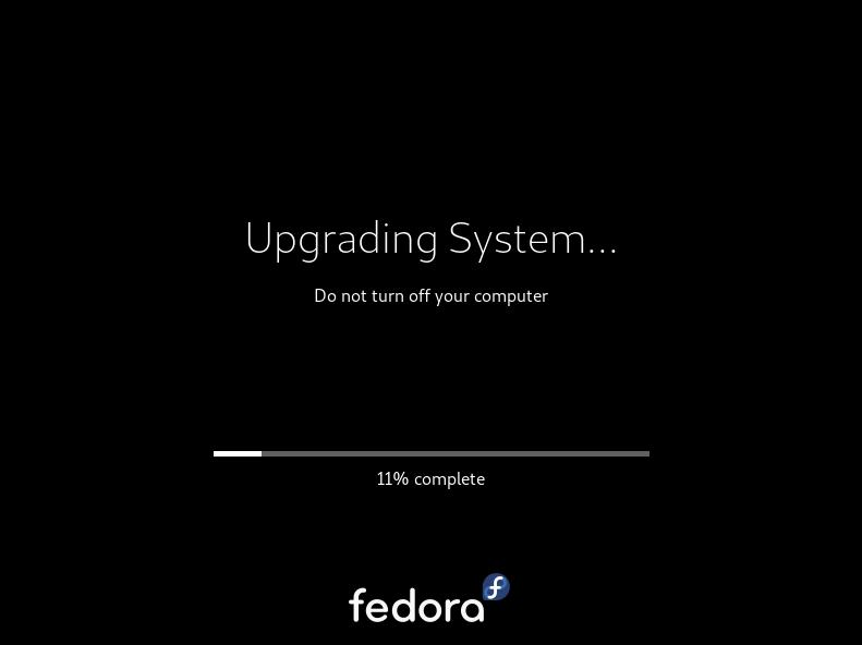 Upgrading Fedora System
