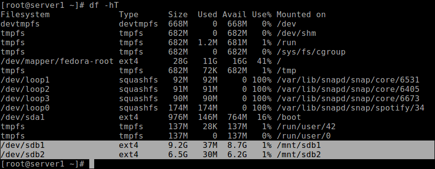 How to Create a Disk Partitions in Linux