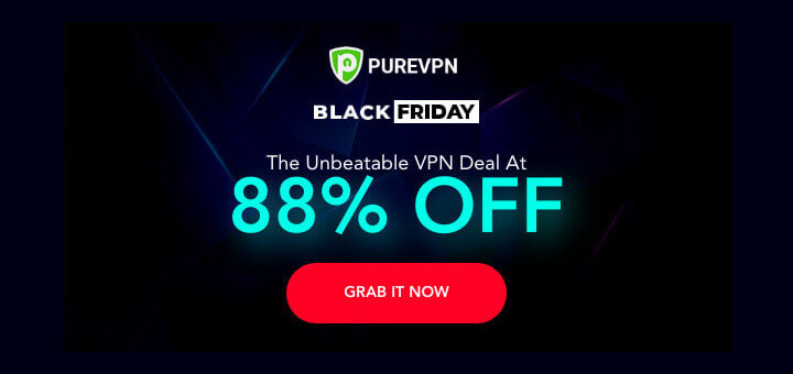 PureVPN Black Friday Deal