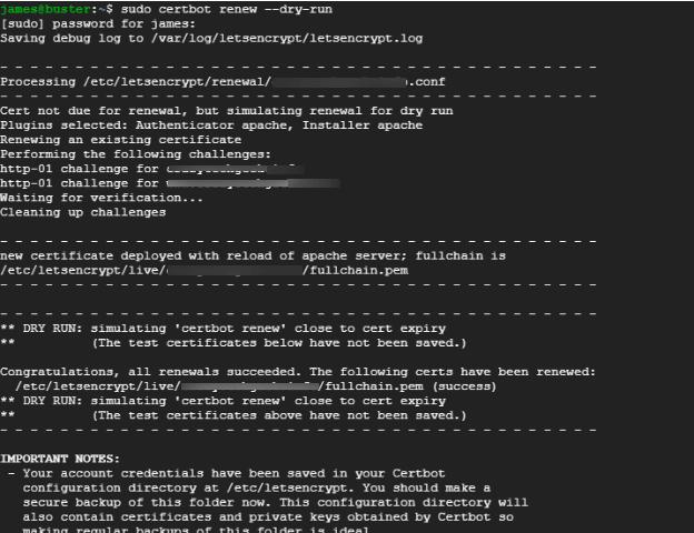 Check Certbot SSL Certificate Auto Renew