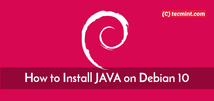 Install Java on Debian 10