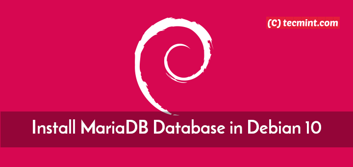 Install MariaDB Database in Debian 10