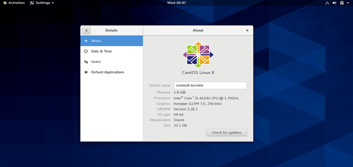 CentOS 8 Released, Download DVD ISO Images Here