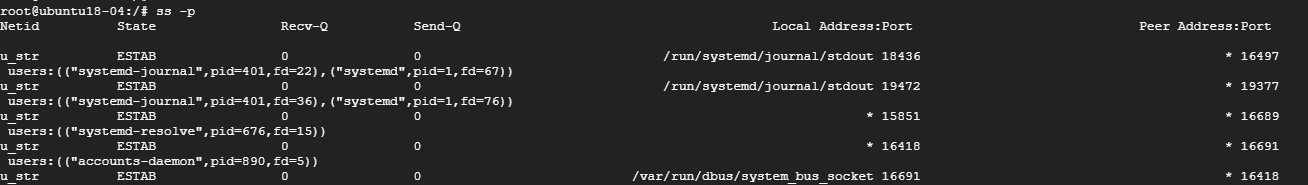Find Process ID of Sockets in Linux