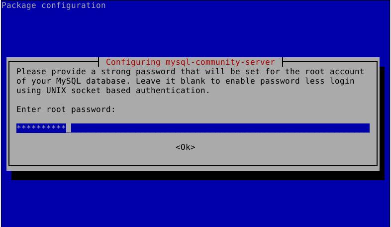 Set MySQL Root Password