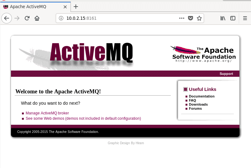 Access Apache ActiveMQ Interface