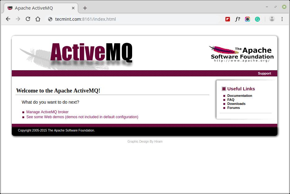 ActiveMQ Web Console