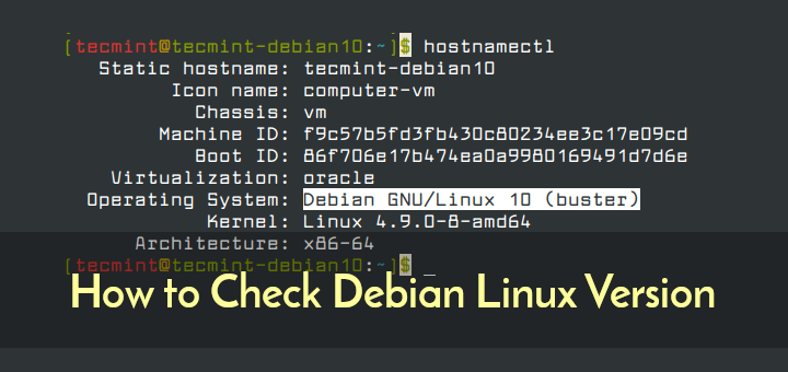 Check Debian Version