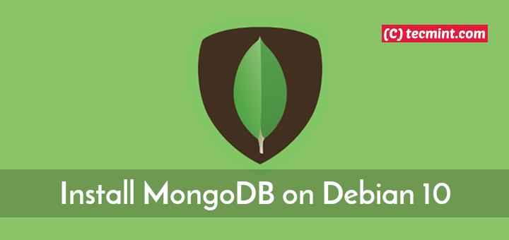 Install MongoDB in Debian