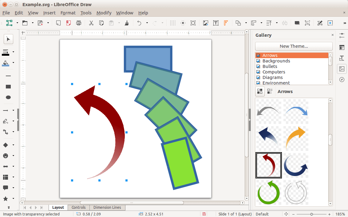 LibreOffice Draw - Vector Graphics Editor