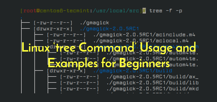 Linux tree Command Examples