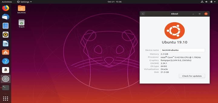 Ubuntu 19.10 Download