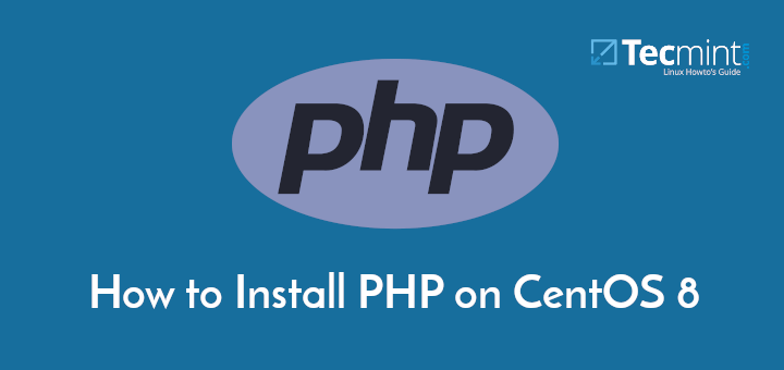 Install PHP 7 on CentOS 8